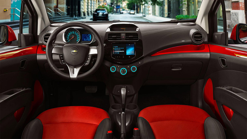 Chevrolet Spark Features Specs Chapman Commercial Fleet