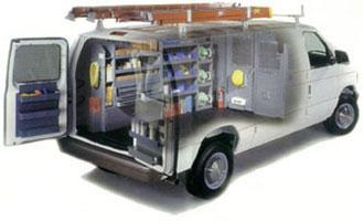 Commercial van interiors chapman commercial fleet - Commercial van interior accessories ...